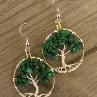 Tree Of Life Earrings 002 Help Meg Beat Breast Cancer
