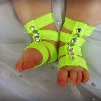 Barefoot Sandals Baby, Newborn Gladiator Sandal, Barefoot Baby Sandal, Baby Girls Gladiator Sandals, Toddler Sandals, Baby Shoes