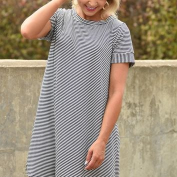 All That You Love Dress - Navy