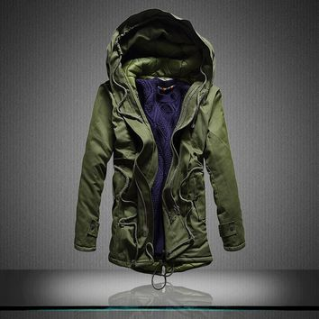 Trendy Army Clothes Windbreaker Military Field Jackets Mens Winter/Autumn Waterproof Flight Pilot Coat Hoodie Three colors m-5xl AT_94_13