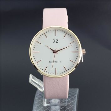 Montre Femme2017 X2 Luxury brand Bracelet watches Women Fashion Casual Ladies Quartz Wrist watch Rose Gold Simple Clock Relogios