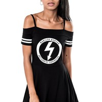 Gloom Bardot Cheerleader Dress [B]