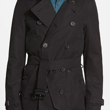 'Sandringham' Short Double Breasted Trench Coat
