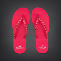 Embroidered Classic Flip Flops