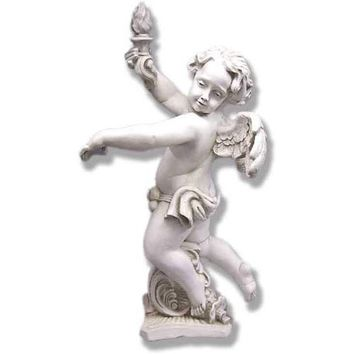 BELLACOR F69119DS Dusted Sand Rococo Angel Left - (In DS - Dusted Sand)