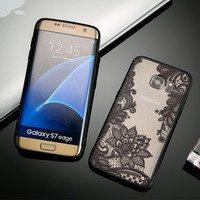 Samsung Lace Floral  Phone Cases For Samsung Galaxy S8 S7 S6