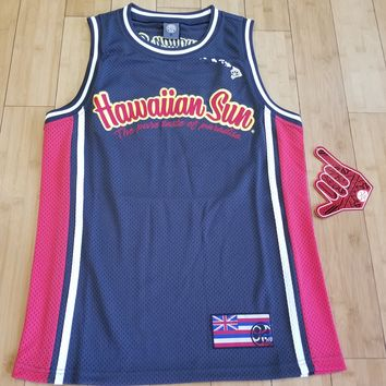 "HIC ""Hawaiian Sun"" Mens Jersey, Charcoal"