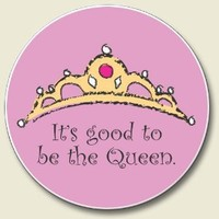 It's Good to Be the Queen Absorbent Stone Auto Car Boat Coaster