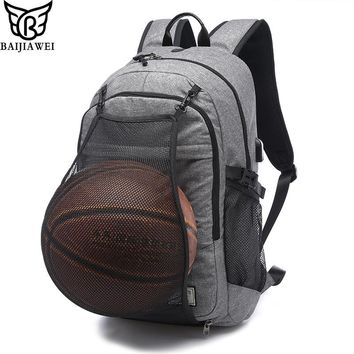 Men's Laptop Backpacks 15.6 Inch Notebook Computer Bags