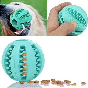 Pet Dog Toy Rubber Ball Chew Toy 7cm