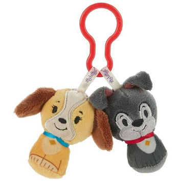 Hallmark Disney Lady and the Tramp itty bittys Clippys Stuffed Animals