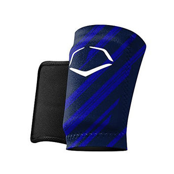 EvoShield MLB Protective Speed Stripe Wrist Guard, Navy, Large