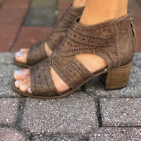 Over You Heels- Light Taupe