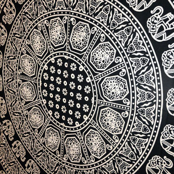 Mandala Tapestry Hippie Beach sheet Throw Bed sheet Bohemian Tapestries Boho Bedspread Home Decor Blanket Wall Decor Art