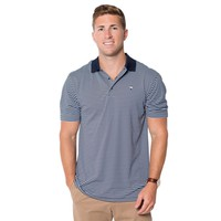 Churchill Performance Polo in Brunnera Blue by The Southern Shirt Co.