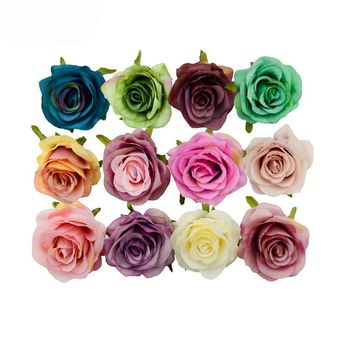 Silk Decorative Artificial Rose Flower Birthday Party Decoration