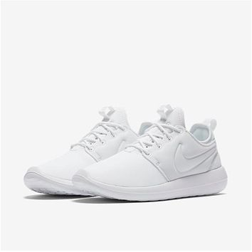 Nike Roshe Two Run 2 Men Women Running shoes Color All White