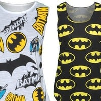 Batman Tank Tops from CherryKreations21