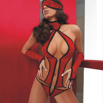 Cute On Sale Hot Deal Sexy One-piece Exotic Lingerie [6596975939]