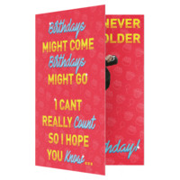 The Chainsmokers Closer Birthday Card (PLAYS ACTUAL SONG)