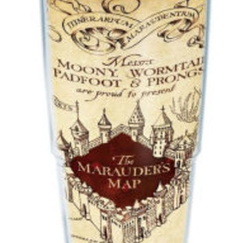 Harry Potter Marauder's Map Insulated Tumbler 24 oz