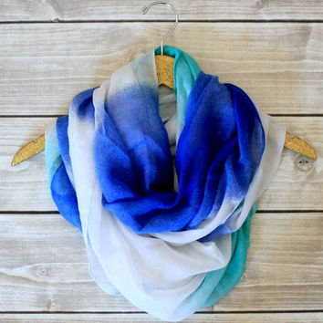 Olivia Ombre Infinity Scarf