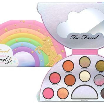 Shimmer Eyeshadow Palette: Life's a Festival Pearly Eyeshadow Palette - Too Faced