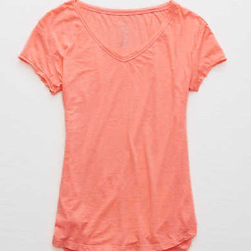 Aerie Real Soft® V-Neck Tee, Stargaze