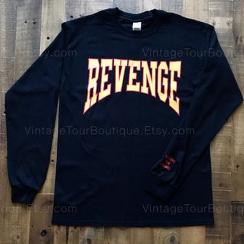 Drake Summer Sixteen Tour Revenge Long Sleeve Shirt Drake Revenge Tour Merch