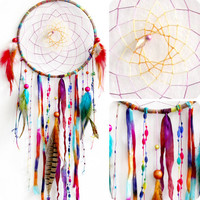 Woodland Wanderlust Native Woven Dreamcatcher