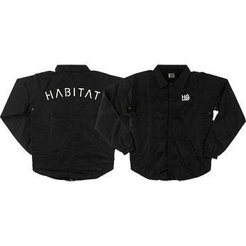 Habitat Pod Stencil Coach Jacket XL Black