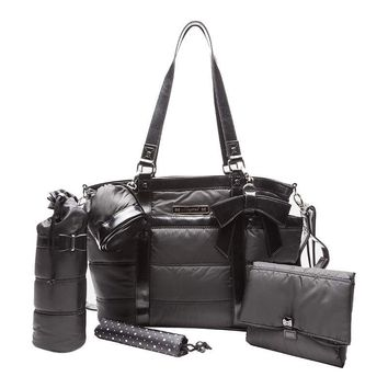 Mayoral Black Fashionable Diaper Bag with Accessories