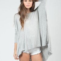 Oversized Jersey Top - Large
