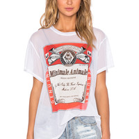 MINIMALE ANIMALE The Weiser Tee in Smoke