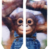 Living Royal | Living Royal - Monkeying Around Ankle Socks » West Of Camden