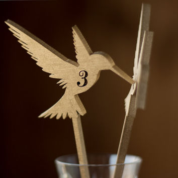 Table Numbers for Wedding or Special Event.