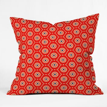 Holli Zollinger Ekko Outdoor Throw Pillow