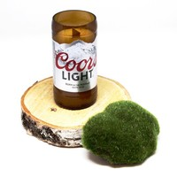 Coors Light Beer Candle