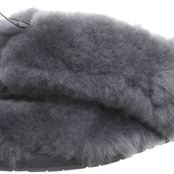 UGG Women's Fluff Flip Flop II Slip On Slipper