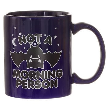 Not a Morning Person Bat Mug