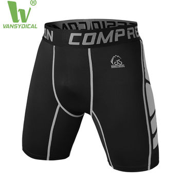 Mens compression shorts compression tights base layer sports gym fitness exercise running outdoor soccer football shorts