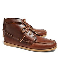 Chukka Boat Boots - Brooks Brothers