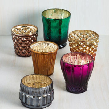 Boho Ambient Planning Votive Candle Holder Set by ModCloth