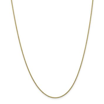 10k 1.5mm Cable Chain Anklet