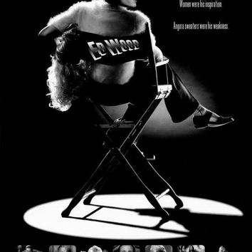 Ed Wood 27x40 Movie Poster (1994)
