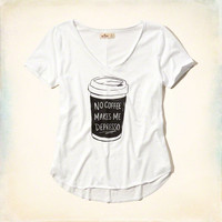 No Coffee Makes Me Depresso Graphic Tee