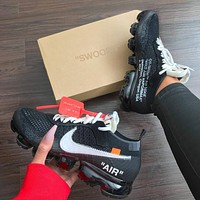 Nike Air Vapormax FK x OFF WHITE Black Sneaker