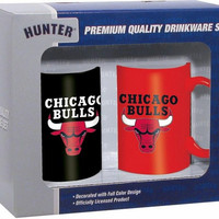 Hunter 2 Pack Coffee Mug - Chicago Bulls