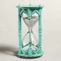 Teal Moroccan Sand Timer
