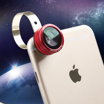3-In-1 Selfie Lens for iPhone se 5s 6s 6 7 Plus Gift
